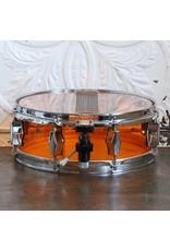 Caisse claire usagée piccolo Fibes en acrylic orange 12x4po