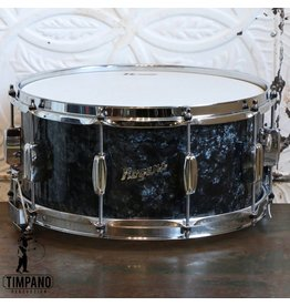 Rogers Dyna-Sonic Black Pearl Snare Drum 14X6.5in