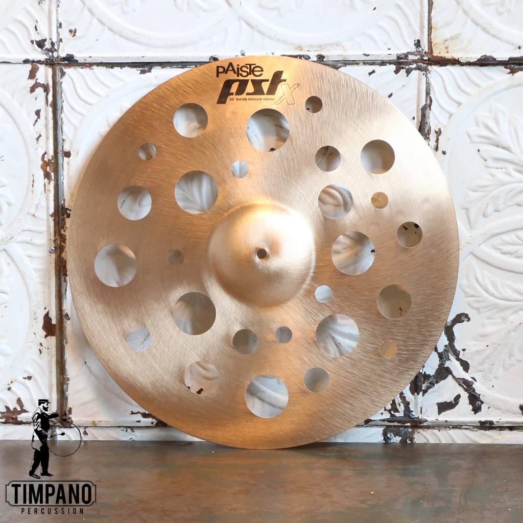 Paiste Cymbale crash Paiste PSTX Swiss Medium 20po