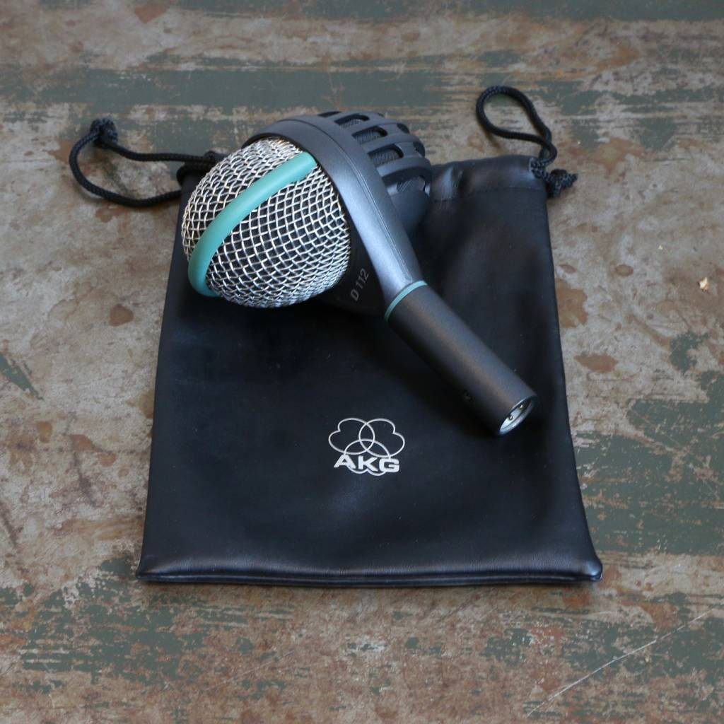Used AKG D112 MK2 Bass Drum Microphone