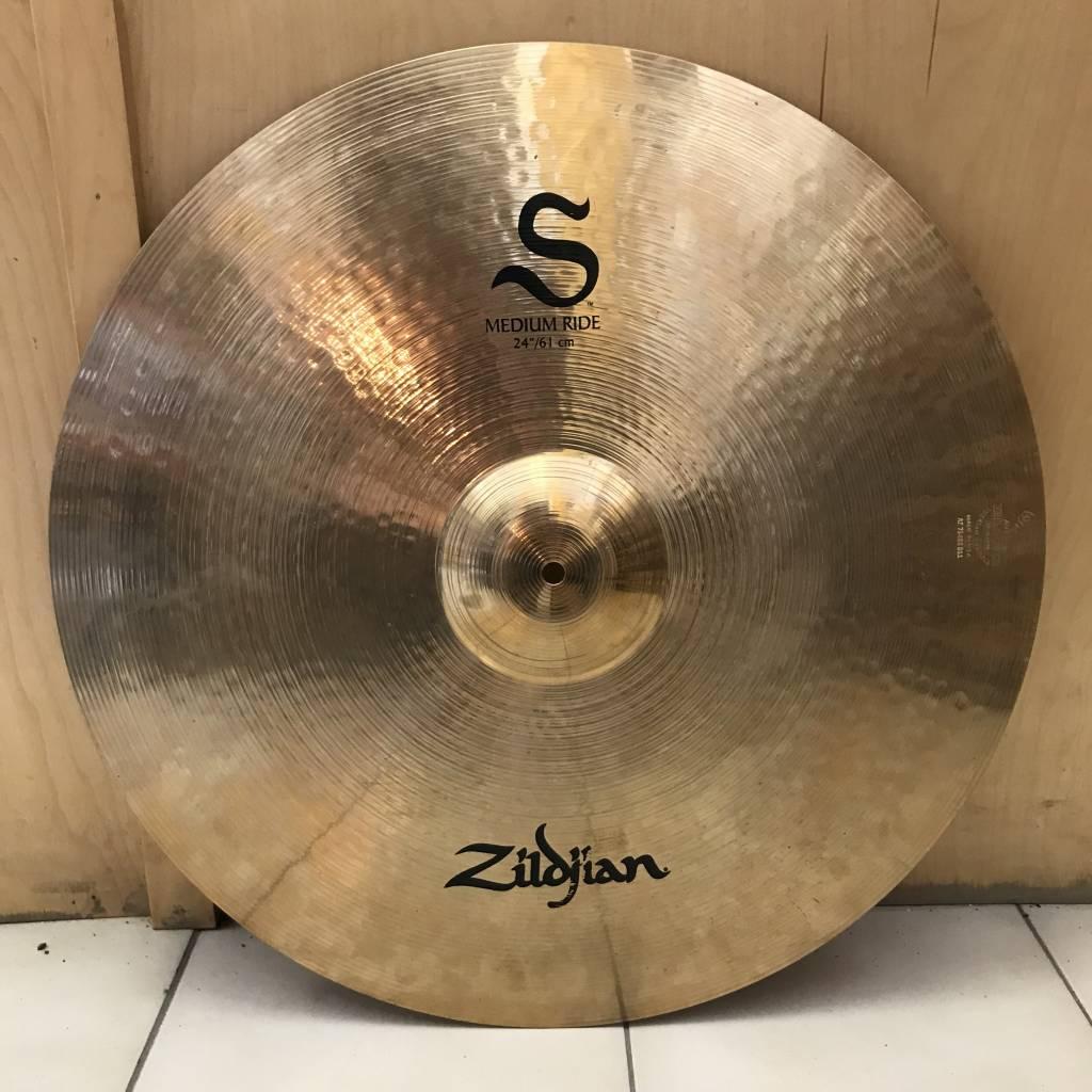 Zildjian Used Zildjian S medium Ride 24in