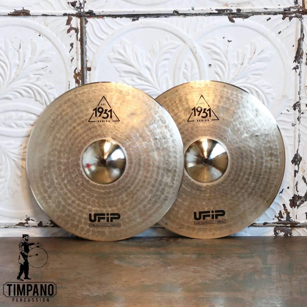 UFiP UFiP Est.1931 Series Hi-hat Cymbals 14in