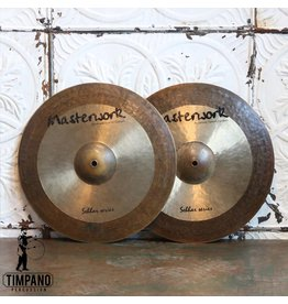 Used Masterwork Sabbar Series Hi-hat Cymbals 15in