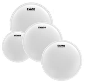Evans Pack of EVANS UV1 Coated Fusion (10; 12; 14in) + snare skin 14po