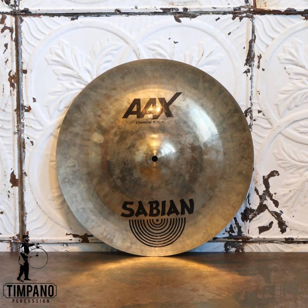 Sabian Used Sabian AAX Chinese Cymbal 16in