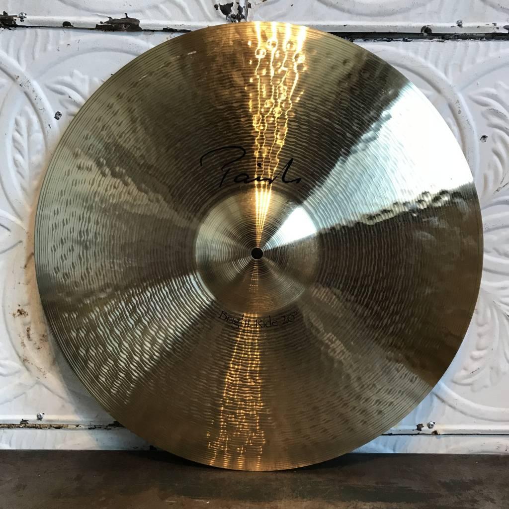 Paiste Cymbale ride usagée Paiste Bright 20po
