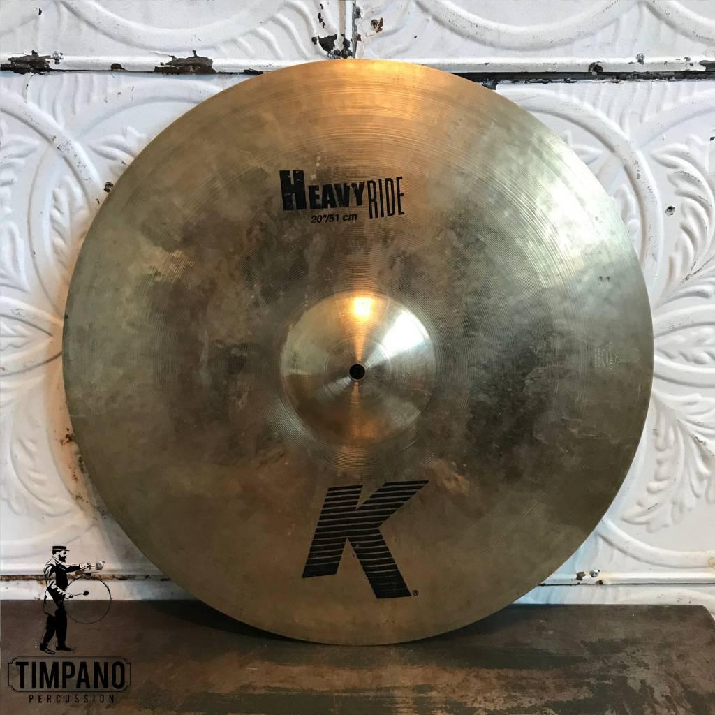 Zildjian Cymbale ride usagée Zildjian K Heavy 20po