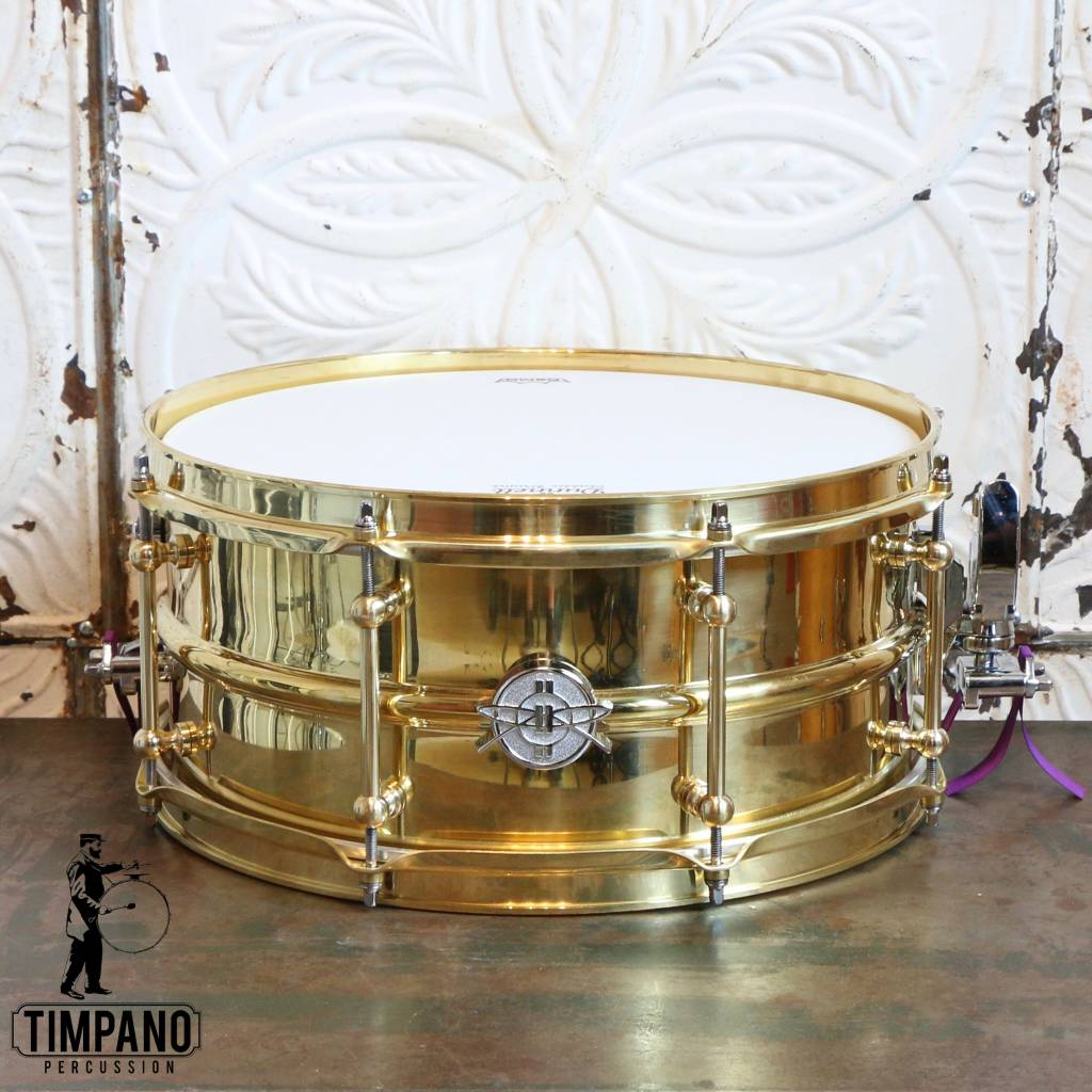 DUNNETT Caisse claire Dunnett 2N Triple Brass 14X6.5po