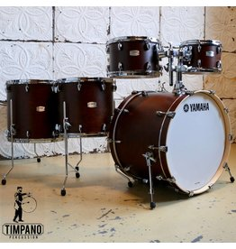 Yamaha Yamaha Tour Custom Chocolate Satin Drum Kit 22-10-12-14-16in