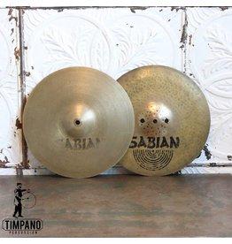 Sabian Cymbales hi-hat usagée Sabian AA Fusion 13po