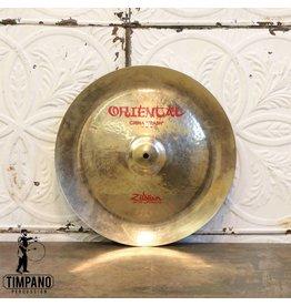 Zildjian Cymbale chinoise usagée Zildjian Oriental China 16po