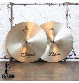 Zildjian Used Zildjian combo A Rock/A New Beat Hi-hat Cymbals 14in