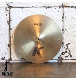 Zildjian Cymbale crash usagée Zildjian K Dark Thin 17po