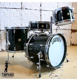 Gretsch Gretsch Broadkaster 135th Anniversairy Emerald Green Drum Kit 18-12-14in + 14in snare
