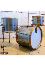 A&F Drum Co Batterie A&F Raw Steel 20-12-14po