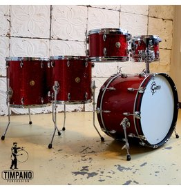 Gretsch Batterie Gretsch USA Custom Red Glass 22-10-12-14-16po