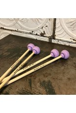 Musser Baguettes de vibraphone Musser Good Vibes MGV31 douces, jeu de quatre