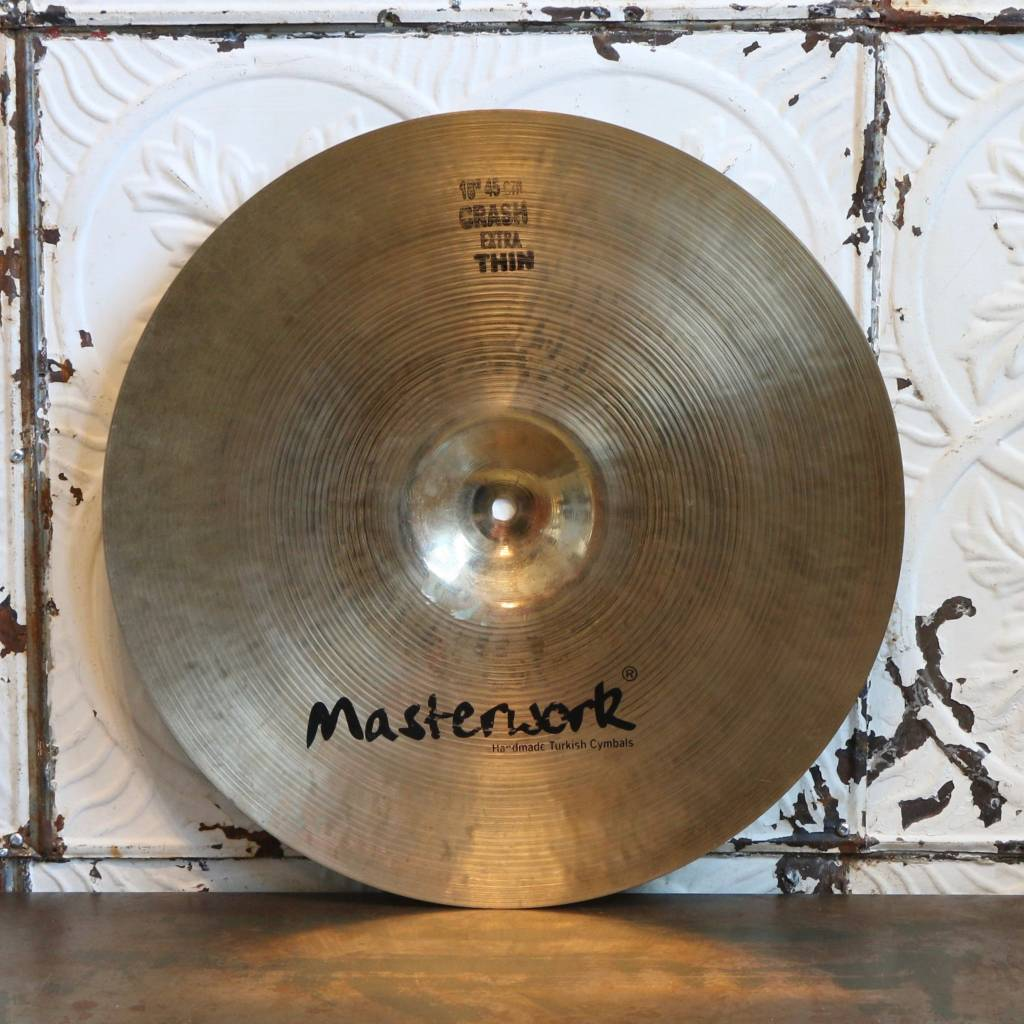 Cymbale crash usagée Masterwork Resonant Extra Thin 18po