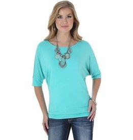 WRANGLER Wrangler Ladies' Tunic Top - Turquoise