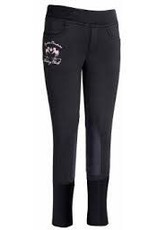 Equine Couture Children's Fleece Breech Black