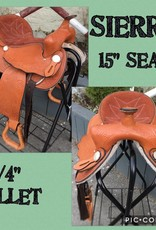 "Sierra 15"" Western Saddle - Consignment"