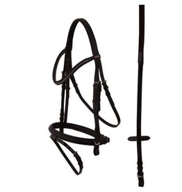 Premiere Tours Combo Bridle in Black- Full