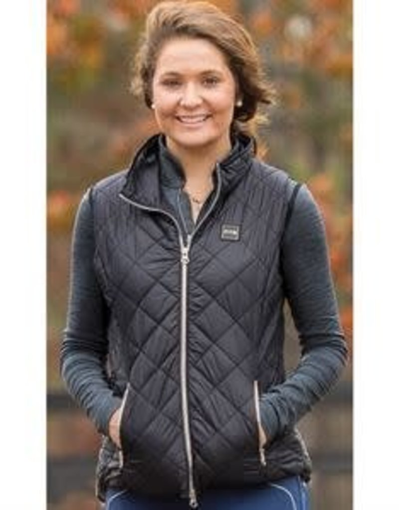FITS RIDING FITS Ainsley Riding Vest - Black
