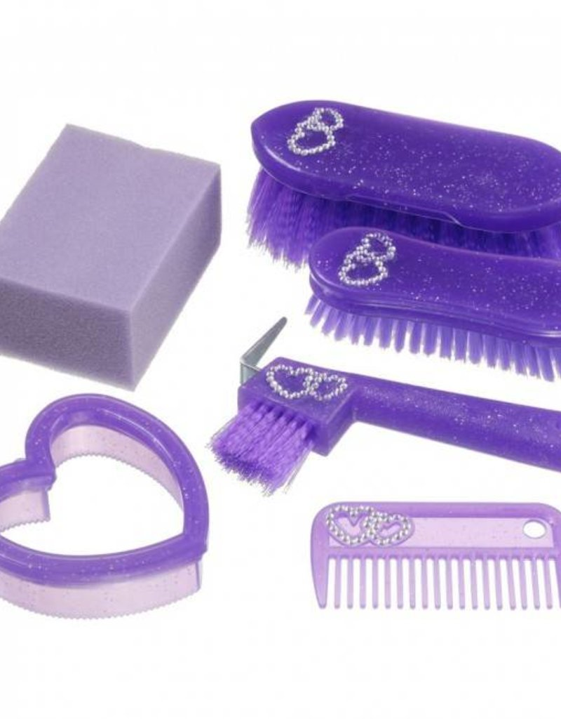JT INTERNATIONAL 6 Piece Junior Grooming Kit