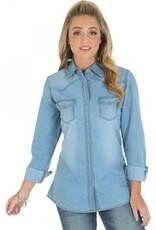 WRANGLER Wrangler Ladies' Long Sleeve Denim Shirt