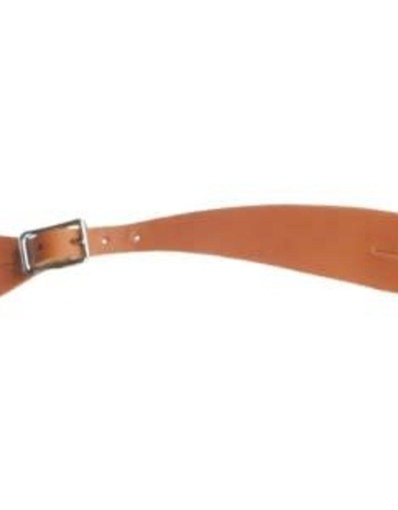 Shaped Leather Spur Strap