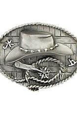 Hat & Spur Belt Buckle