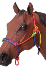 Multi Coloured Rope Halter