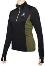 FOAL Quarter zip schoolong fleece XS