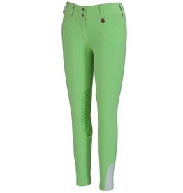 Tuff Rider Ladies' Neon Green Knee Patch Breech sz 30