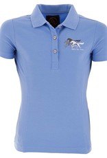 BR EQUESTRIAN BR Milli Youth Polo - Ice Blue