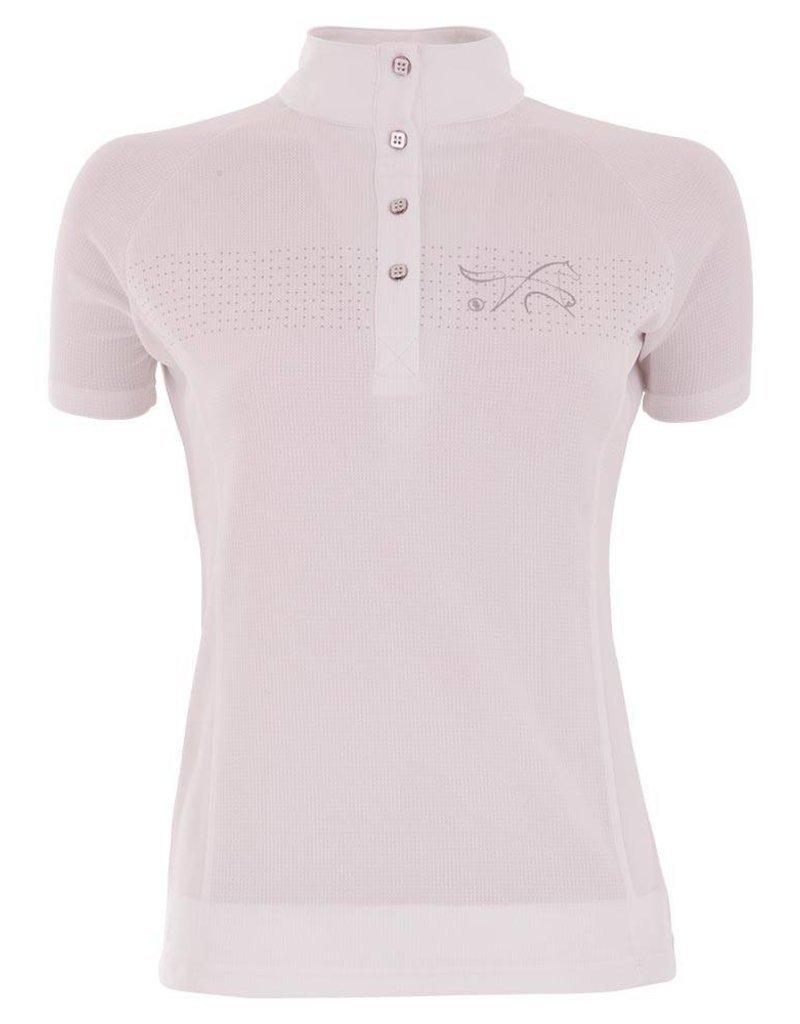 BR EQUESTRIAN BR Mayra Ladies' Show Shirt - White