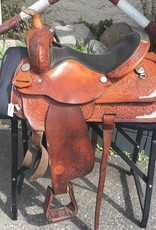 "Circle Y Equitation Saddle 15"" - Consignment"