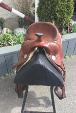 "Circle Y Parks & Trail Saddle 15"" - Consingment"
