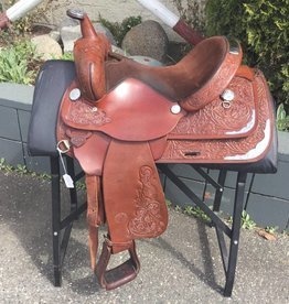 "Circle Y Parks & Trail Saddle 15"" - Consignment"