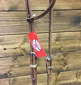 One Ear Headstall Vintage Brown