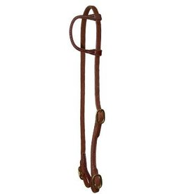 WESTERN RAWHIDE One Ear Headstall Harness Leather with Buckles