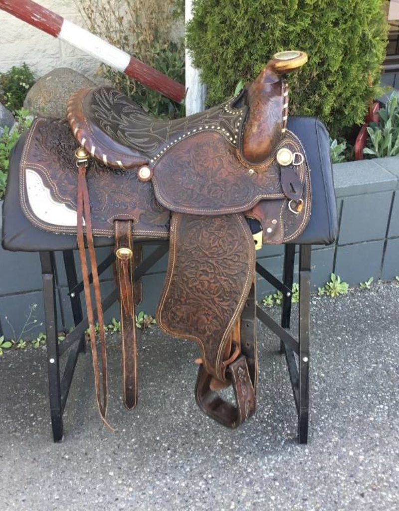 "24-5W-1 15"" Simco Western Saddle 8"" Gullet"