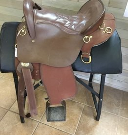 "King Series Endurance Saddle 16.5""-Consignment"