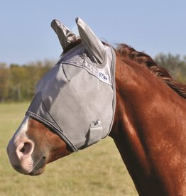 CASHEL Cashel Fly Mask - With Ears Grey