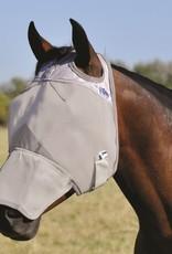 CASHEL Cashel Fly Mask - Long Nose Grey