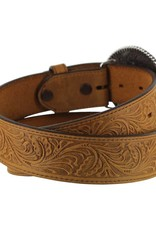 Justin Floral Tooled Trophy Belt