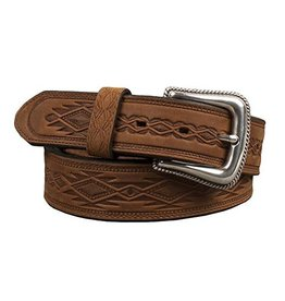 TONY LAMA Tony Lama Navajo Belt-Brown