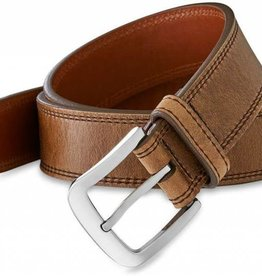 TONY LAMA Tony Lama Basic Double Stitched Belt-Brown