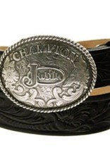 JUSTIN Kid's Champion Tooled Belt
