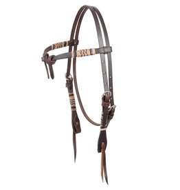 MARTIN SADDLERY Rawhide Braided Headstall